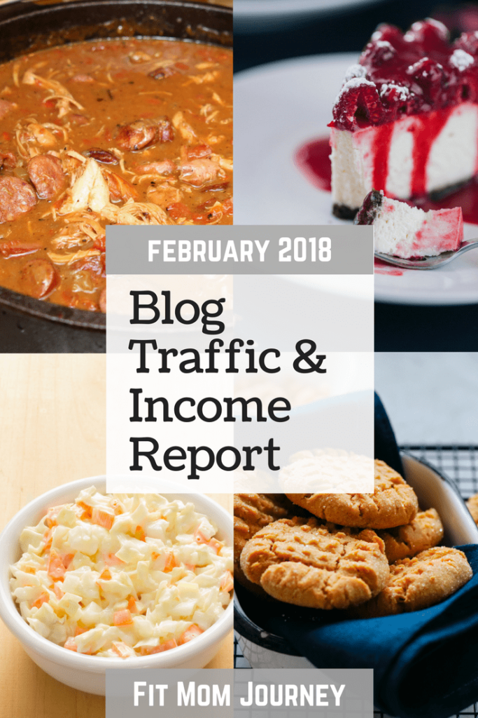 Hi There, Gretchen here, with this month's traffic and income report for Fit Mom Journey in February 2018. First time here?  Let me give you a quick rundown of what these reports are all about.