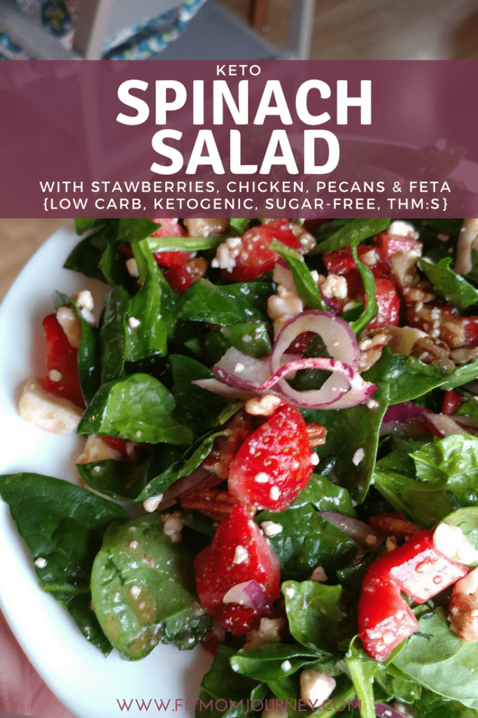 This Keto Spinach salad is all of these things, it can be whipped up in under 5 minutes, and it's even Keto! It's one of my favorite salads because it packs a punch of flavor, protein, and healthy fats!