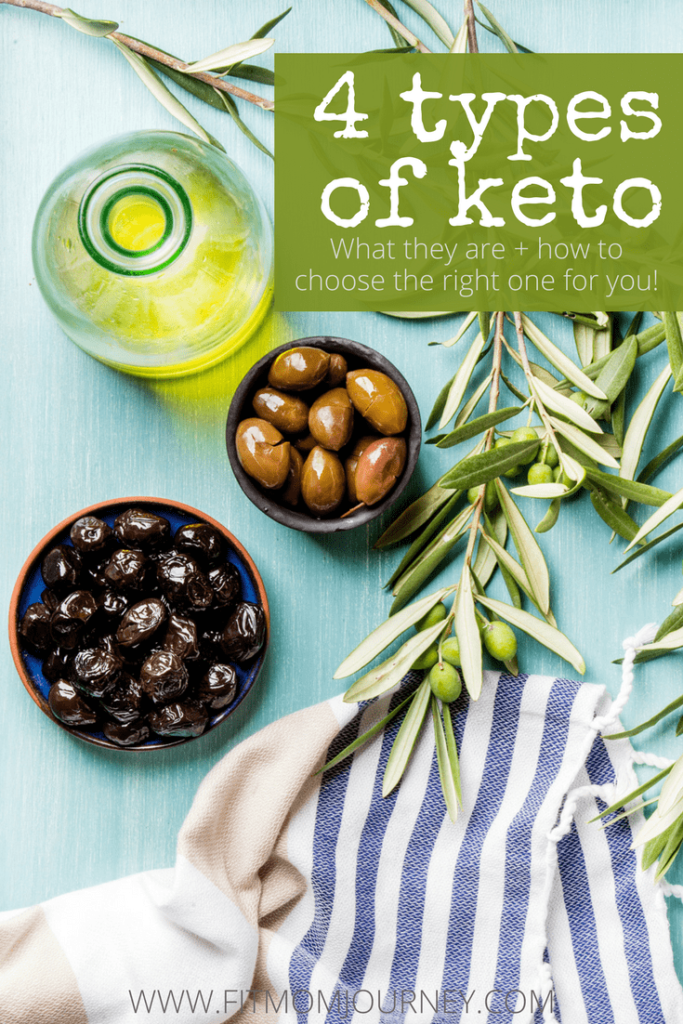 Did you know there are 4 types of Ketogenic Diet types? Yep, and each have very different purposes. Here are the 4 different types of keto diets, and how to choose the right one for you!