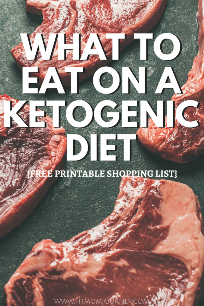 Here is a complete list of what to eat on a Ketogenic Diet - with free Shopping List - to help you achieve your healthiest self!