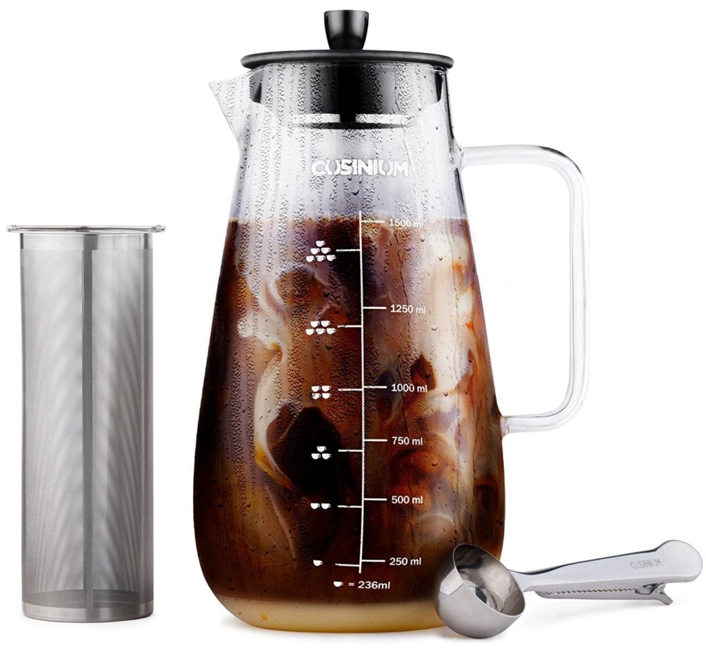 cold brew coffeemaker - mother's day gifts 2018