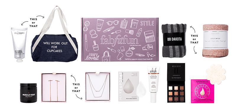 fabfitfun box - mother's day gifts 2018