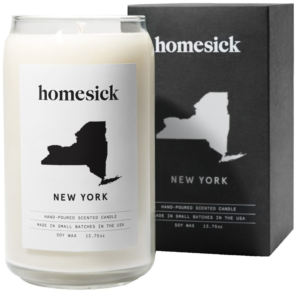 homesick candle - mother's day gifts 2018