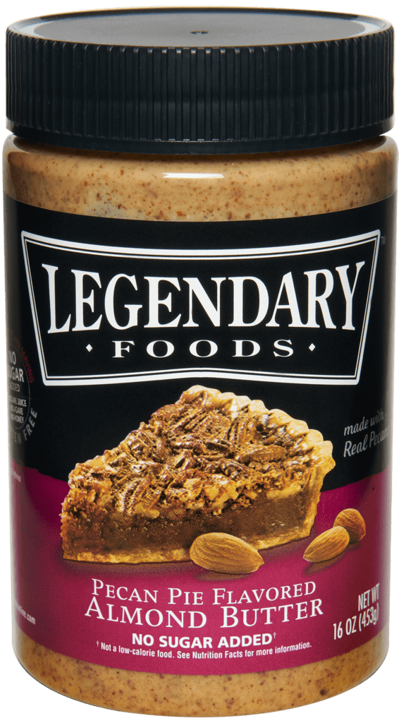 legendary foods pecan pie almond butter- mother's day gifts 2018