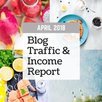 April 2018 Blog Traffic & Income Report