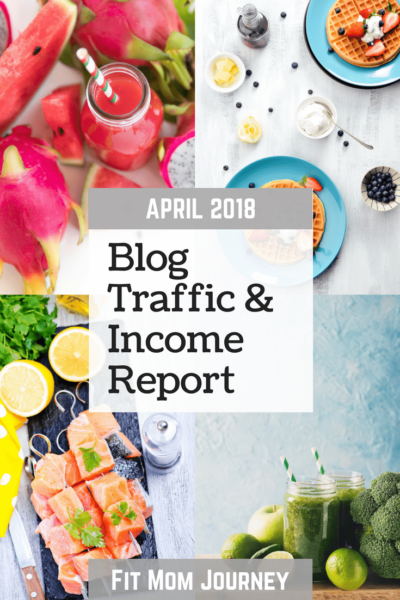 April 2018 Blog Traffic & Income Report