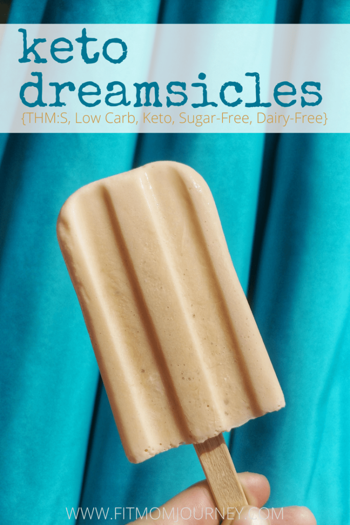 My Keto Dreamsicles are so good, they'll take you back to childhood - and you won't miss the carbs! Even my 4-year-old and husband approved of this sweet & creamy treat.