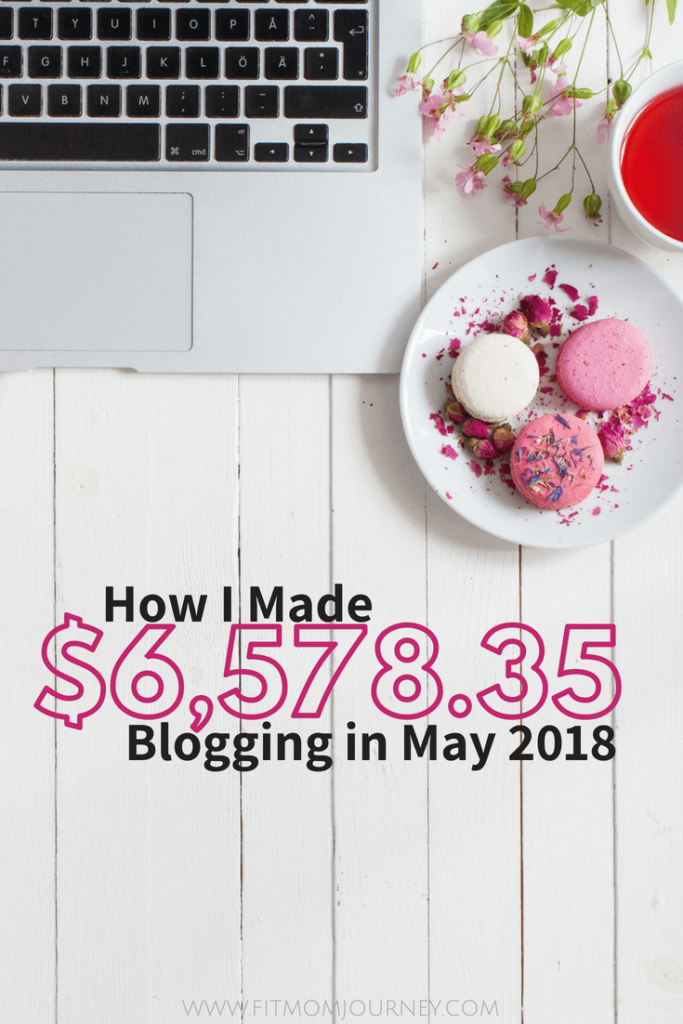 Hey there! Gretchen here, with May 2018's Blog Traffic & Income Report for Fit Mom Journey.   This is my 9th (!) income report here at FMJ.  You can see the very first report here, or all my income reports on this page.