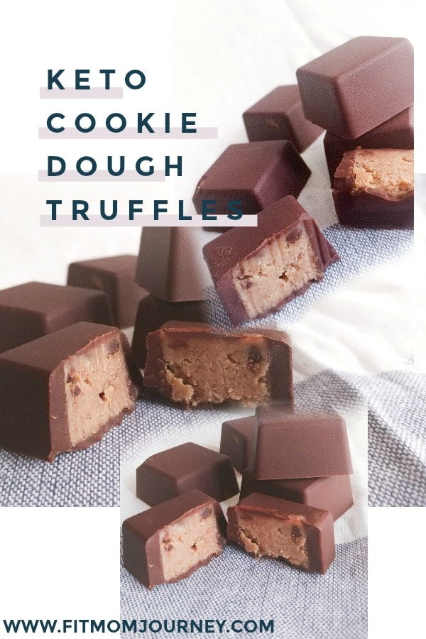 There is never a bad time to eat cookie dough. Pop these Keto Cookie Dough Truffles in the fridge or freezer for a pre-made treat when the cravings hit!