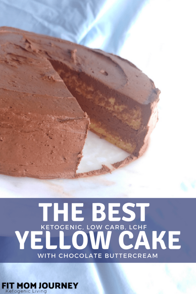 The best Keto Yellow cake tastes like it came from a bakery. With that pudding taste we've come to love in boxed cakes and an airy chocolate buttercream - which all clocks in at 1.3 net carbs per slice - you won't miss boxed cake ever again.