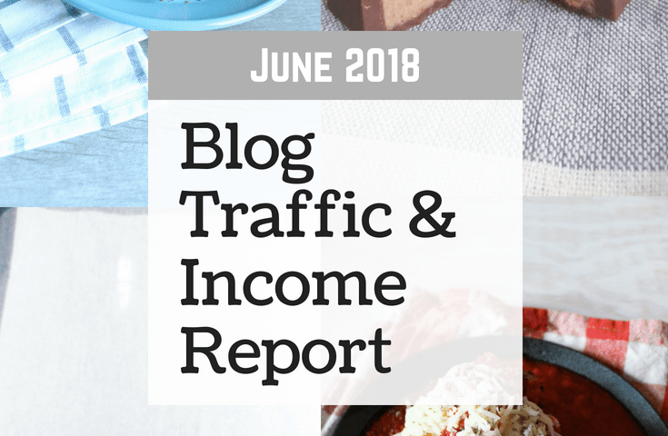 June 2018 Blog Traffic & Income Report