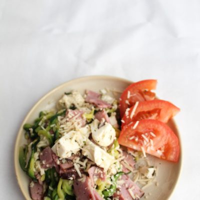 Best Keto Antipasto Bowl