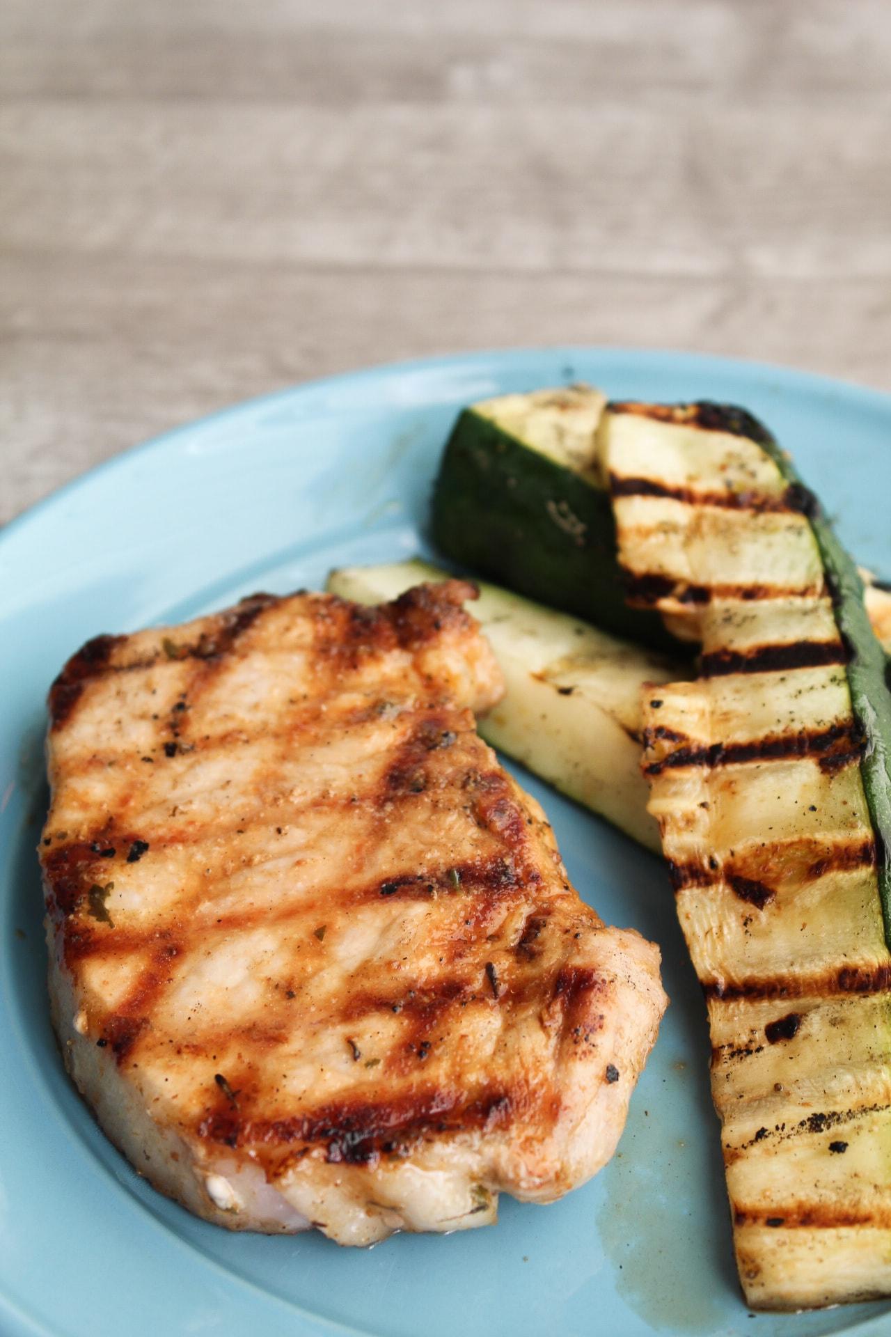 keto pork chop recipe grill Easy Keto Grilled Pork Chops Marinade - Fit Mom Journey