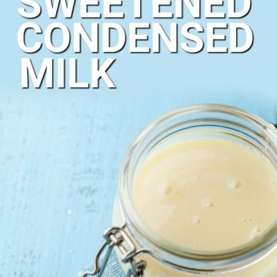 Keto Sweetened Condensed Milk