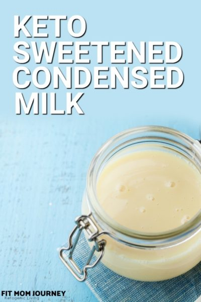 Keto Sweetened Condensed Milk