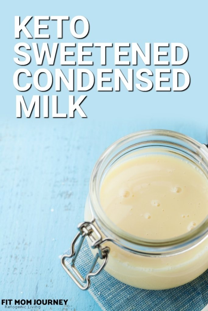 Making Keto Sweetened Condensed Milk is easier than you think! It only takes 3 ingredients and about 30 minutes of your time - and so many desserts that use Sweetened Condensed Milk will be at your fingertips.
