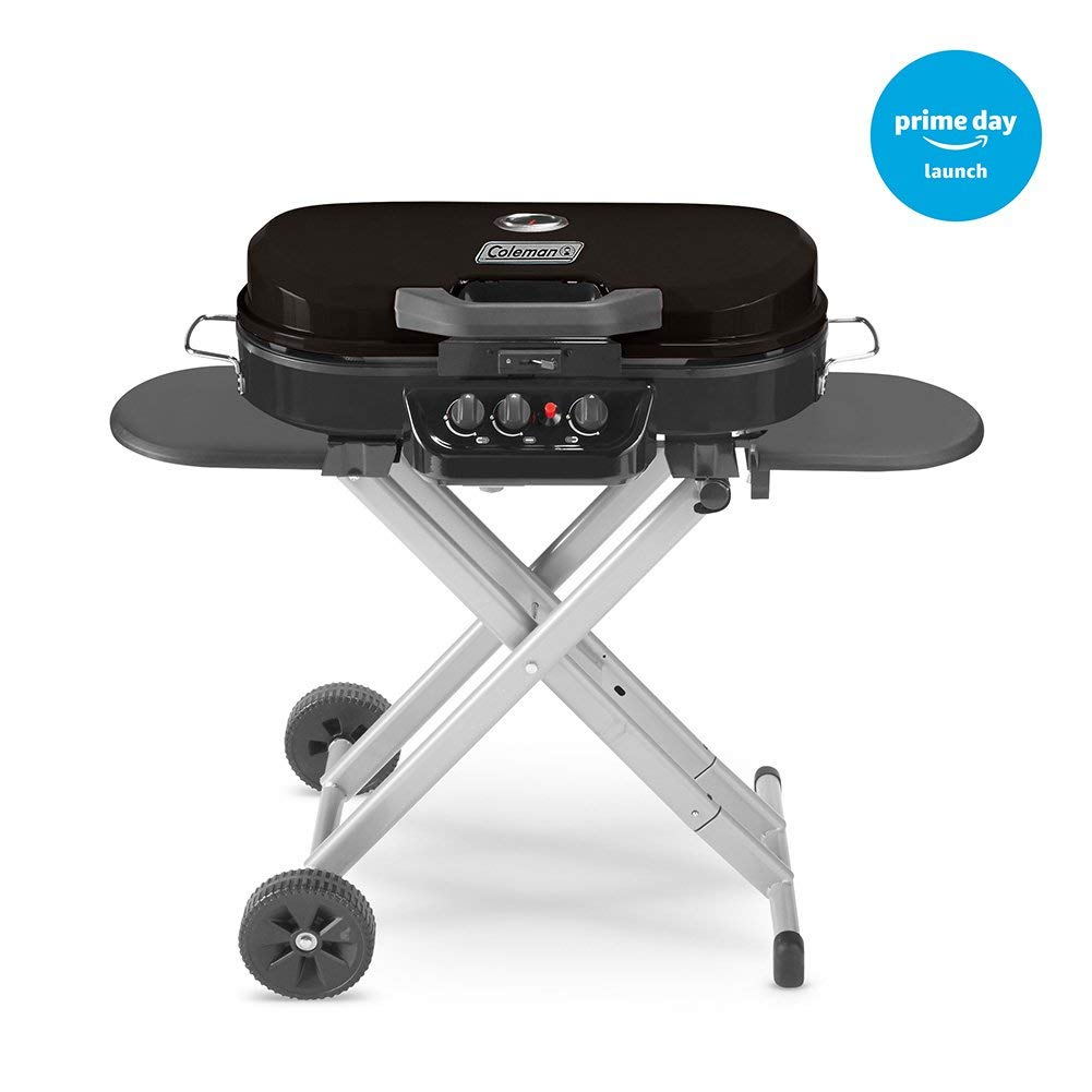 coleman stand-up grill