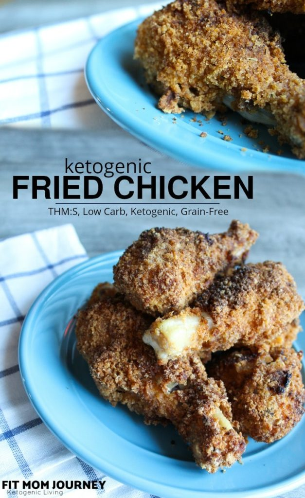 Keto Fried Chicken is super easy to make using ingredients you probably already have on hand!