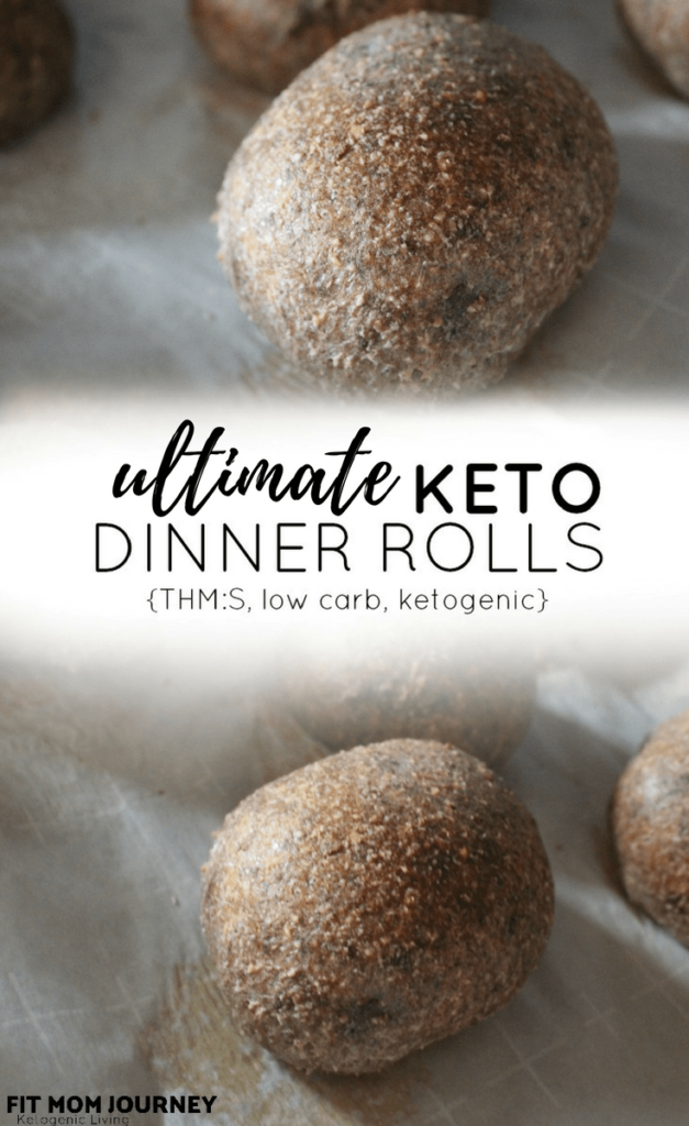 My Ultimate Keto Dinner Rolls are super simple to make and can be used for everything from sandwiches, sliders, and burgers, to family favorites like bread pudding!