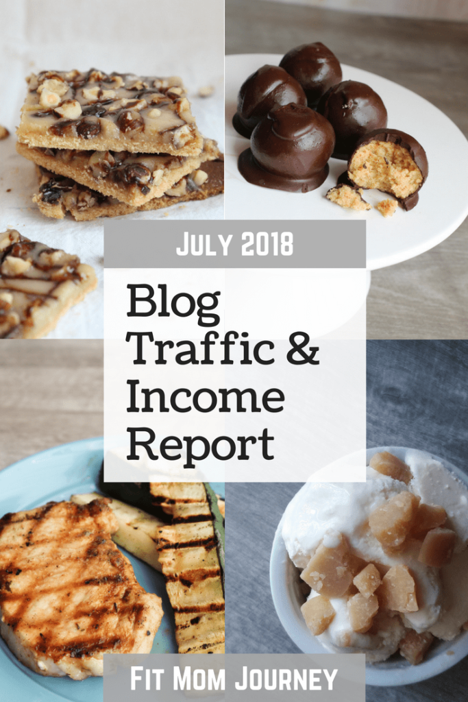 Hey there! Gretchen here, with June 2018's Blog Traffic & Income Report for Fit Mom Journey