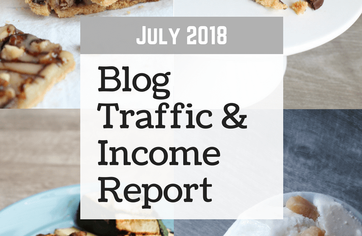 July 2018 Blog Traffic & Income Report