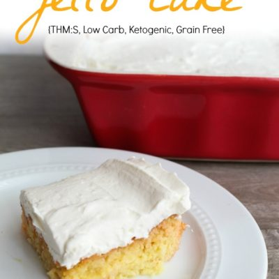 Low Carb Jello Cake – Keto Jello Cake