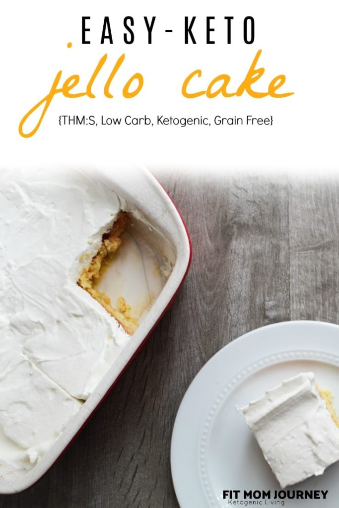 Remember those delicious jello poke cakes from summer camp (or the 70's)?  Well my Low Carb Jello Cake is exactly the same - but without all the sugar!  Keto Jello Cake is VERY easy to make and your whole family will love it!