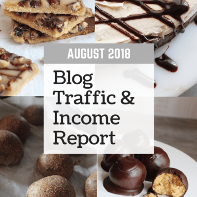 August 2018 Blog Traffic & Income Report