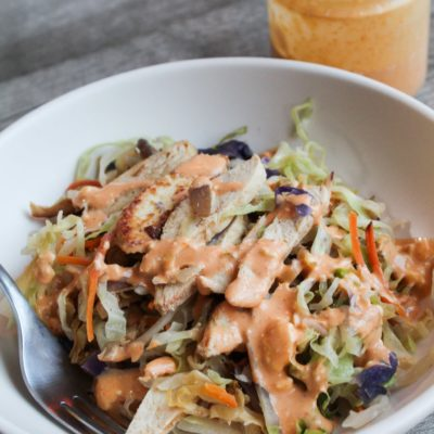 When it comes to meals you can prep beforehand or whip up for a quick dinner, you won't find a better, easiest, or more tasty recipe than Keto Crack Slaw.  Basically, it's egg roll fillings put in a bowl with your choice of protein, and slathered in my Crack Slaw Sauce, which I'll share with you in this recipe.