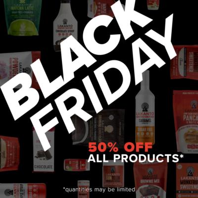 Keto/Low Carb Black Friday Roundup