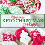Make Christmas easily keto with this collection of Keto Christmas Cookies - indulge and still stay on track with your diet with my healthful keto Christmas cookies!