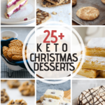 Make Christmas easily keto with this collection of Keto Christmas Desserts - indulge and still stay on track with your diet with my healthful keto treats!