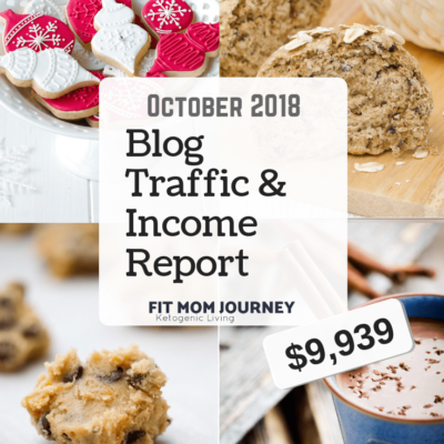 October 2018 Blog Traffic & Income Report