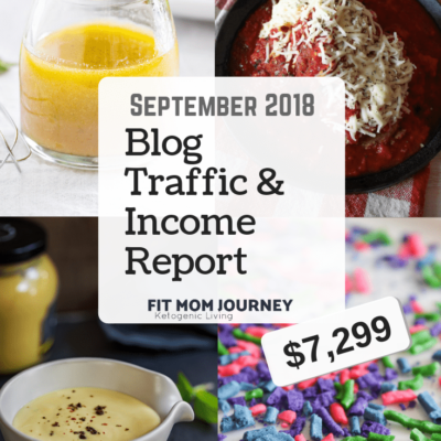 September 2018 Blog Traffic & Income Report