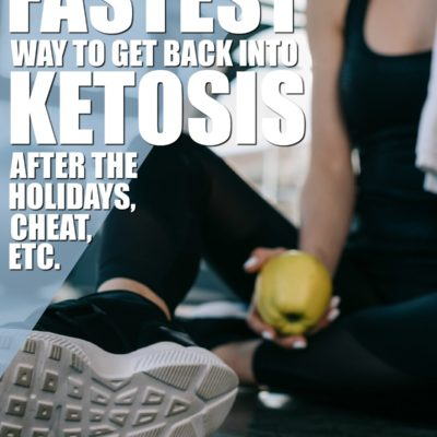 The Fastest Way To Get Back Into Ketosis After the Holidays