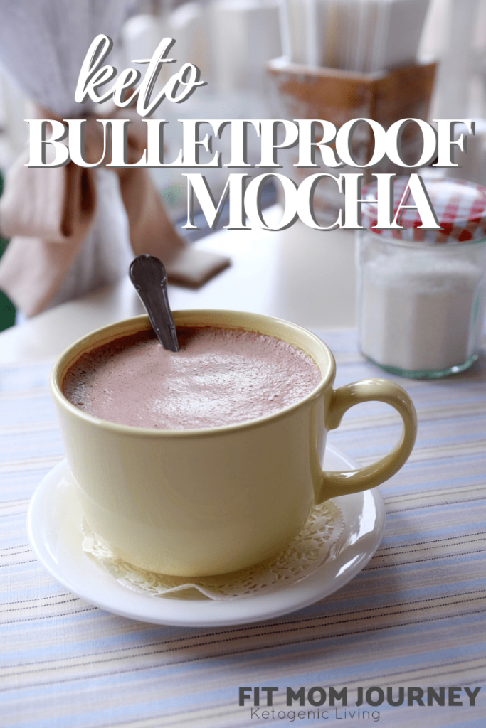 This Keto Bulletproof Coffee Recipe in Mocha is a delicious, satisfying, healthful alternative to sugary, fattening drinks found in coffee shops. Make is yourself to save money and improve your health!