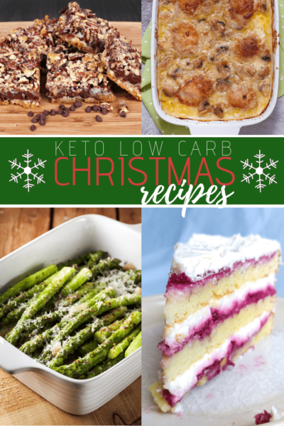 Keep Christmas healthy with this collection of Keto Christmas Recipes. From salads and appetizers, to main dishes and dessert, these Keto Christmas recipes are delicious and easy.