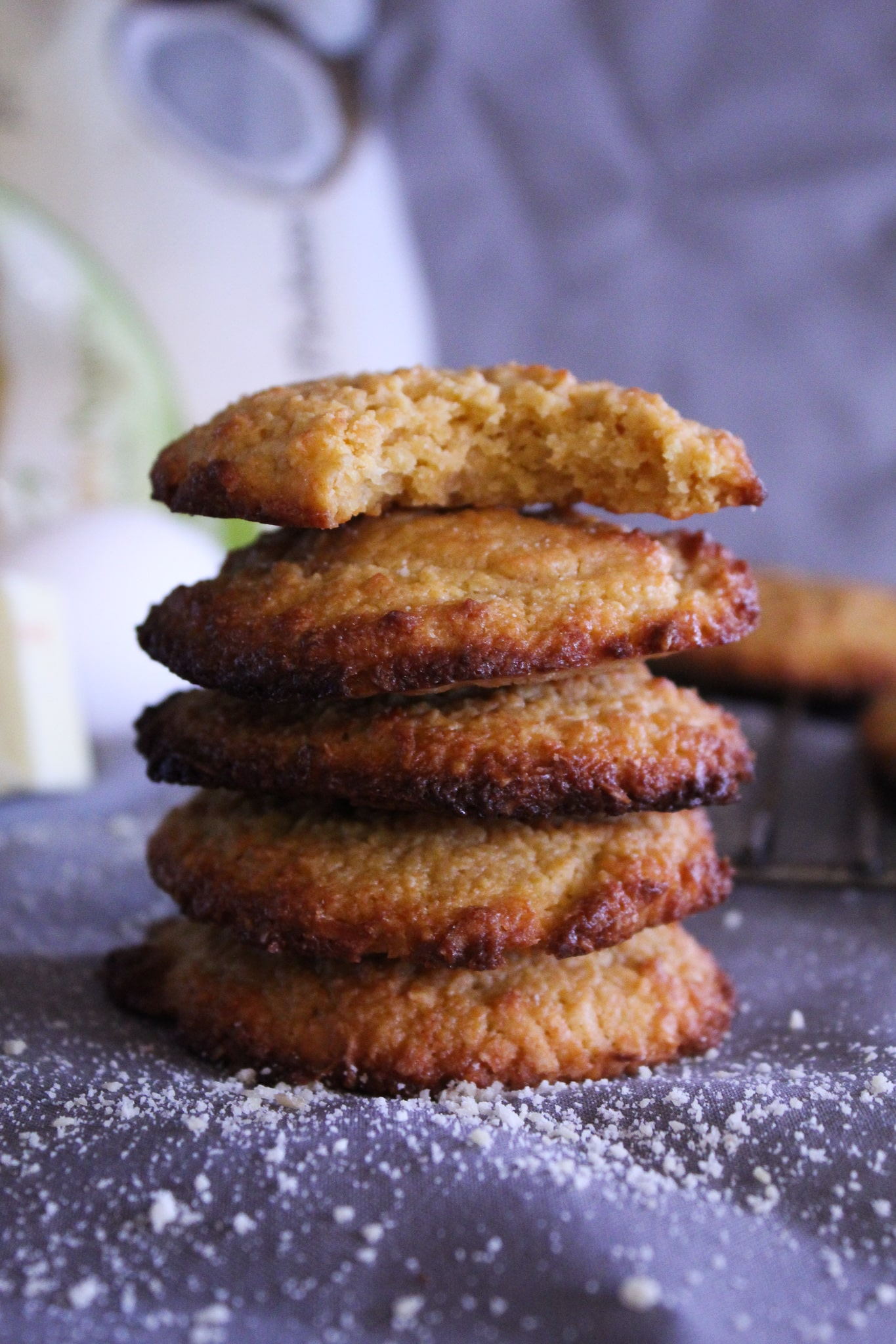 "These Keto ""Oatmeal"" Cookies are not only chewy and delicious, they taste just like traditional oatmeal cookies, but are completely sugar-free, grain-free, gluten-free, and super low carb. You'll fool everyone into thinking they're the real thing!"