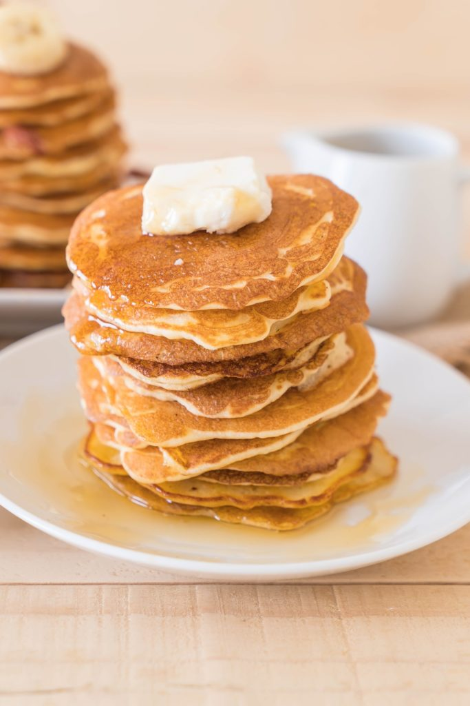 A recipe for thick and Fluffy Keto Pancakes ( aka Lupin Flour Pancakes) that tastes like pancakes you would get in a diner! They have only 0.5 net carbs each and taste like the real thing!