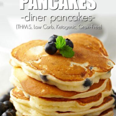Fluffy Keto Pancakes – Lupin Flour Pancakes