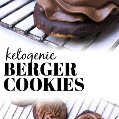 Keto Berger Cookies