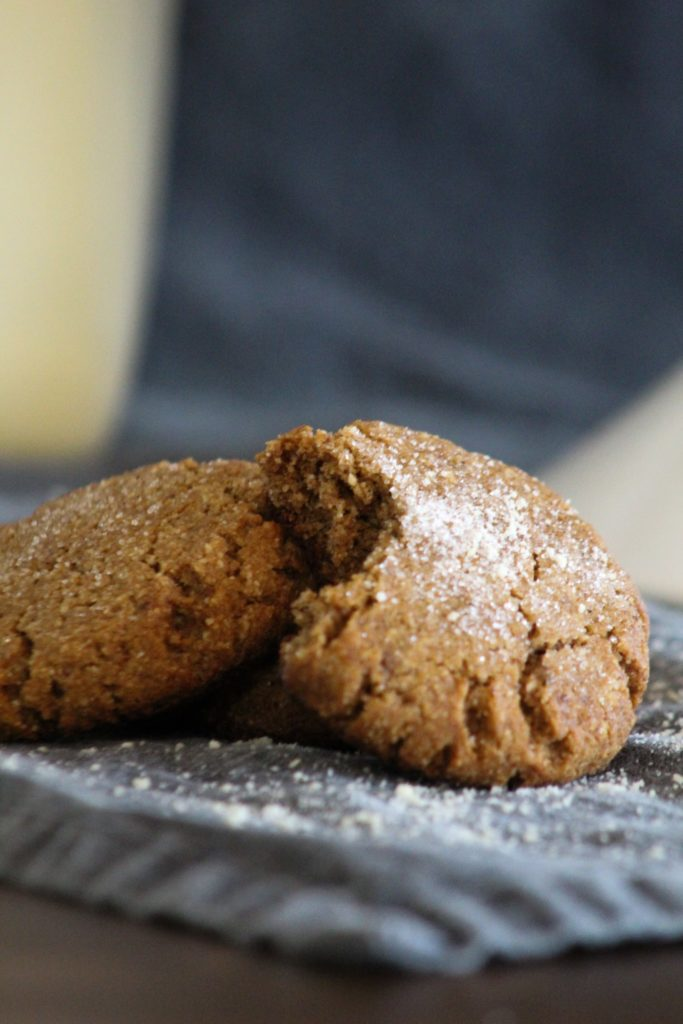 Soft but chewy Keto Ginger Cookies that are so good they're addictive!  So good, that no one will know they're keto.  The perfect ketogenic holiday cookie!