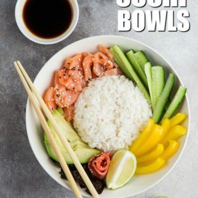 Keto Sushi Bowl