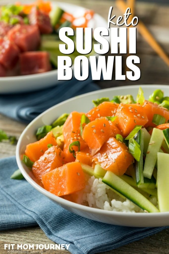 Love sushi but gone keto? This delicious Keto Sushi Bowl was created to satisfy your every sushi craving with spices and low carb ingredients.