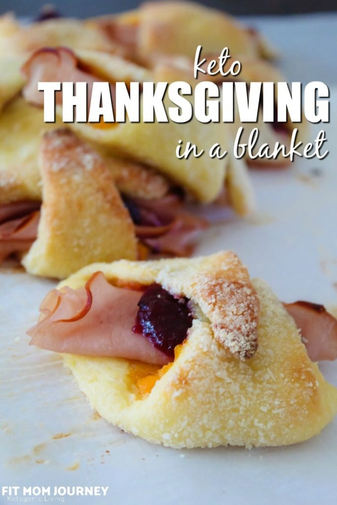 Making Keto Thanksgiving in a Blanket is the absolute best thing you can do with those Thanksgiving leftovers just sitting in your fridge!
