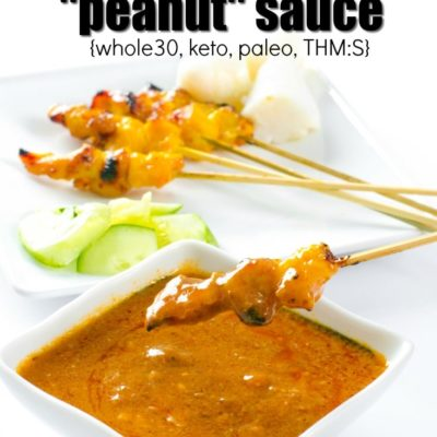 "Whole30 Thai ""Peanut"" Sauce"