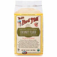 Bob's Red Mill, Organic High Fiber Coconut Flour, Gluten Free, 16 oz(Pack of 2)