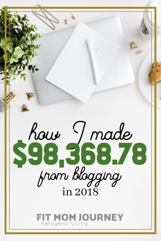 Hi There!  Gretchen here, with Fit Mom Journey's 1st ever annual blog income wrap-up.  When I started blogging way back in 2012 on a personal finance blog, I was desperately hoping that I could earn just $100/month, which would greatly help my new family.  I was working in a windowless office for 10 hours a day, pregnant, and absolutely hated where I saw my life heading.