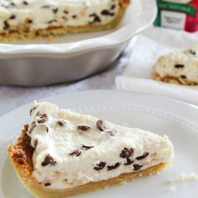 Low Carb Cannoli Pie