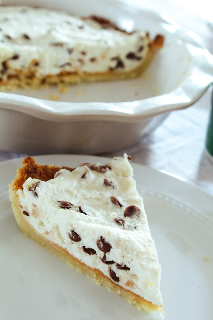 This easy-to-make Keto Cannoli Pie is half the work of traditional cannoli, with all the taste and way better keto macros.  It is baked in an easy ketogenic pie crust and keeps well for up to 2 weeks.
